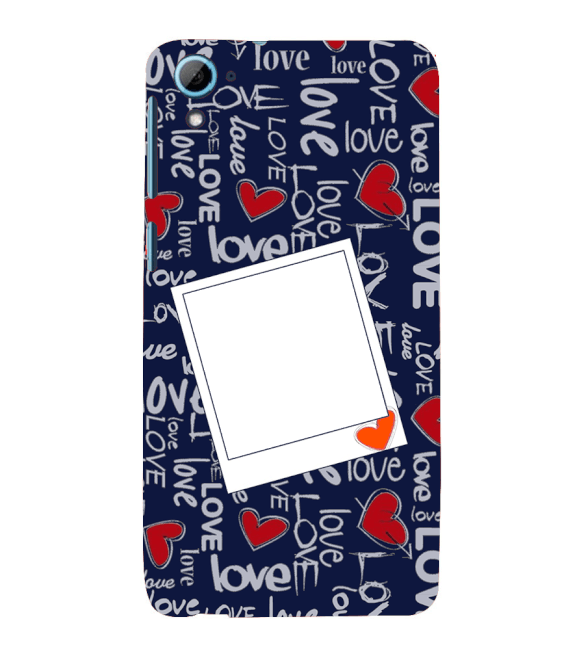 Love All Around Back Cover for HTC Desire 826