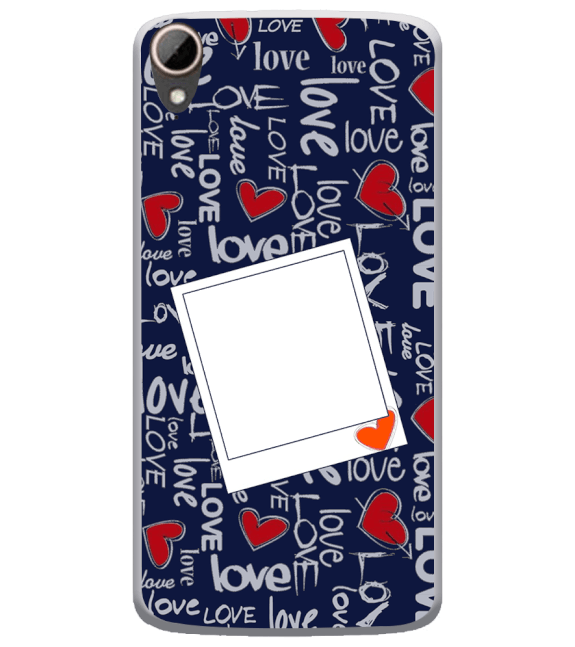 Love All Around Back Cover for HTC Desire 828