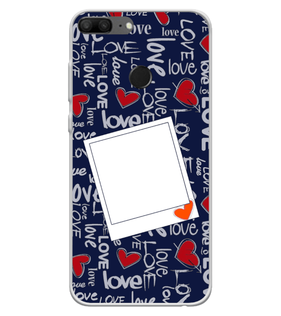 Love All Around Back Cover for Huawei Honor 9 Lite