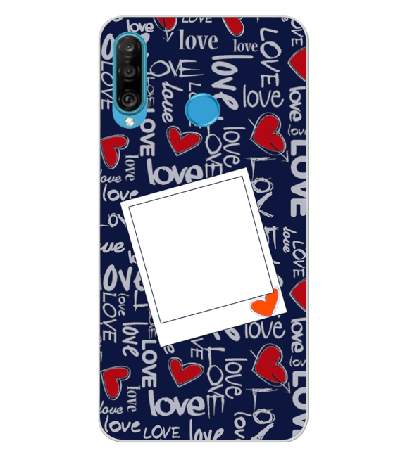 Love All Around Back Cover for Huawei P30 lite