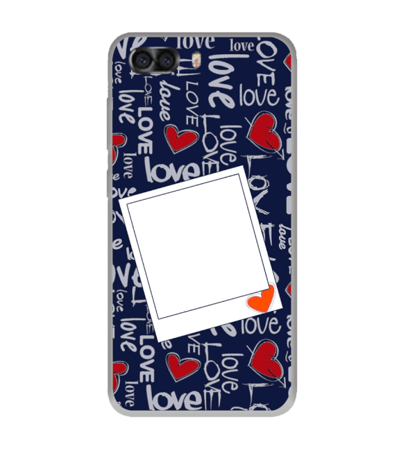 Love All Around Back Cover for InFocus Turbo 5 Plus