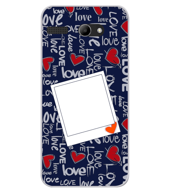 Love All Around Back Cover for Lava Iris Atom X