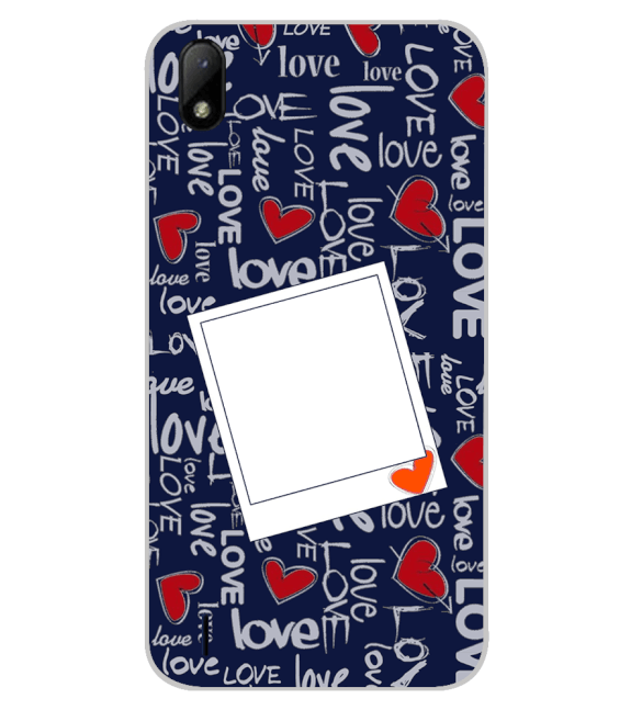 Love All Around Back Cover for Lava Z41