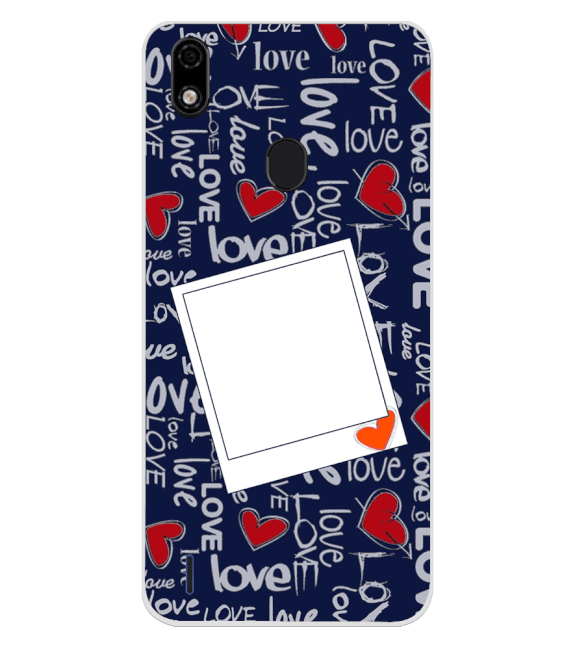 Love All Around Back Cover for Lava Z52 Pro