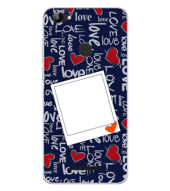 Love All Around Back Cover for Lava Z81
