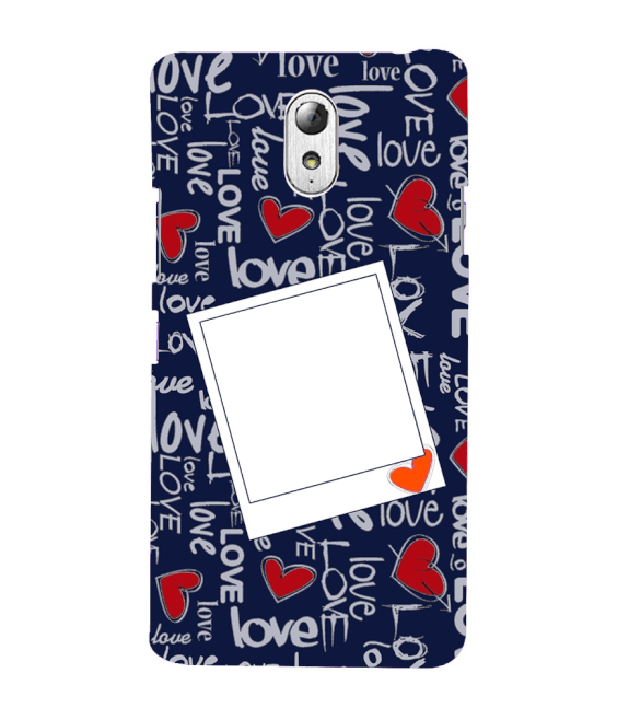 Love All Around Back Cover for Lenovo Vibe P1M