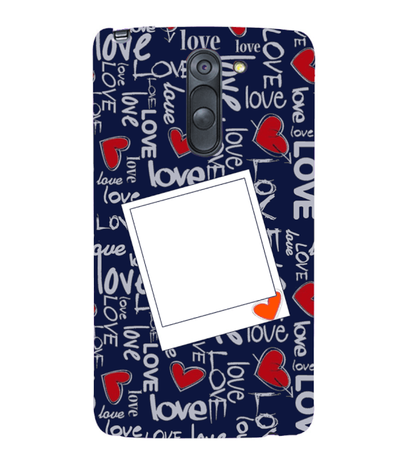 Love All Around Back Cover for LG G3 Stylus