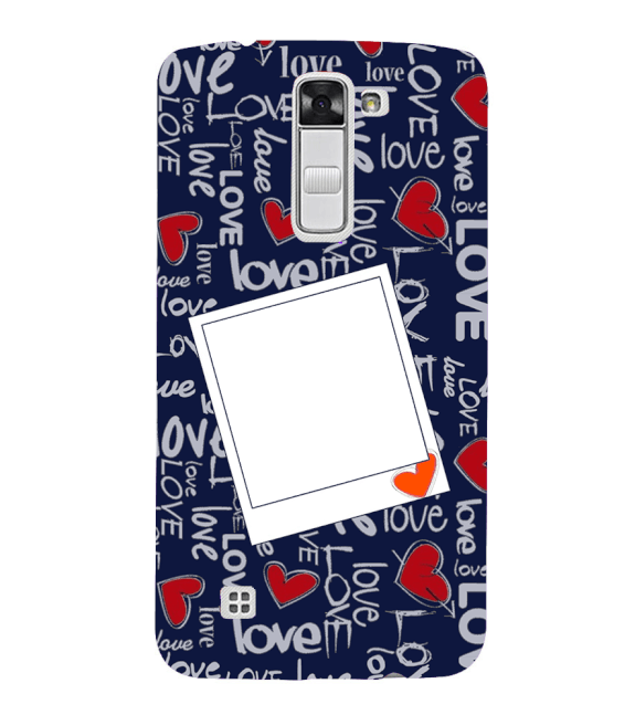 Love All Around Back Cover for LG K10