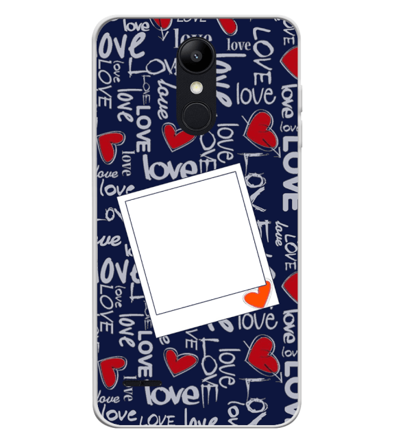 Love All Around Back Cover for LG K9