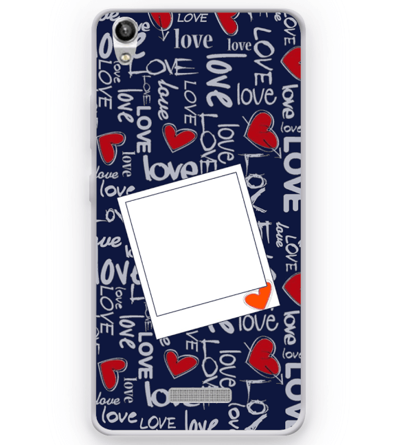 Love All Around Back Cover for Micromax Canvas Fire 5 Q386