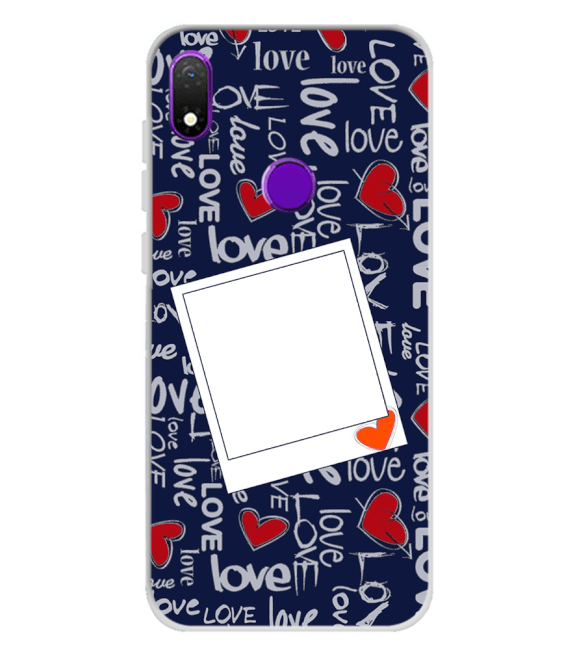 Love All Around Back Cover for Mobiistar X1 Notch