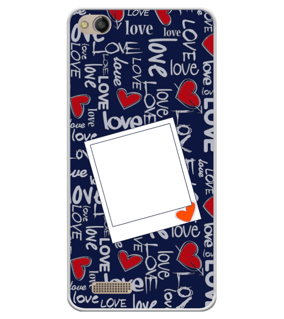 Love All Around Back Cover for Mobistar CQ Dual