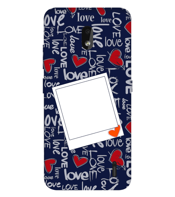 Love All Around Back Cover for Nokia 2.2