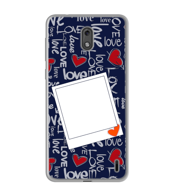 Love All Around Back Cover for Nokia 2