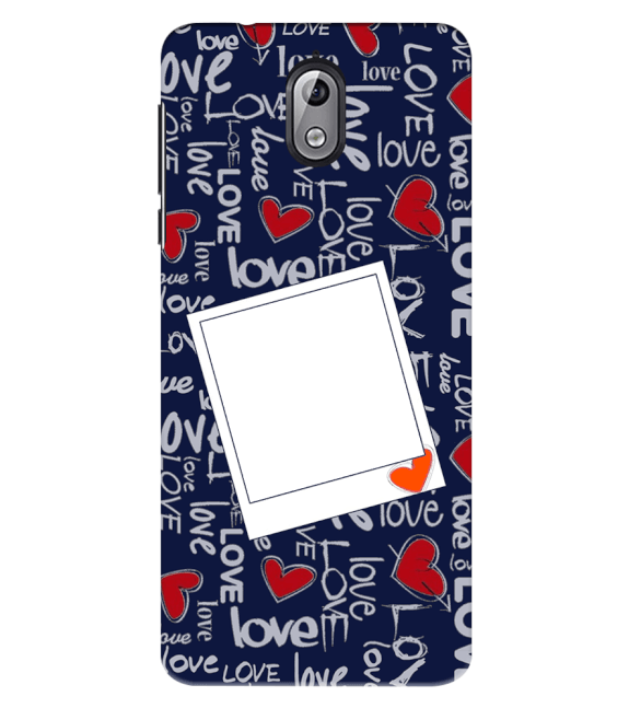 Love All Around Back Cover for Nokia 3.1 (2018)
