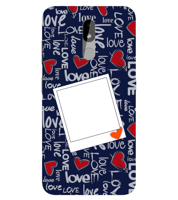 Love All Around Back Cover for Nokia 3.2