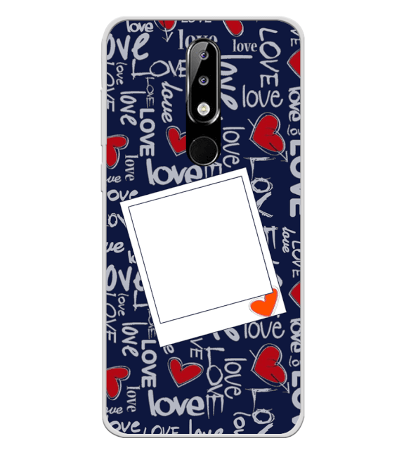 Love All Around Back Cover for Nokia 5.1 Plus (Nokia X5)