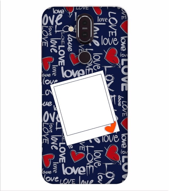 Love All Around Back Cover for Nokia 8.1 (Nokia X7)