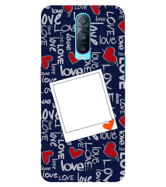 Love All Around Back Cover for Oppo RX17 Pro