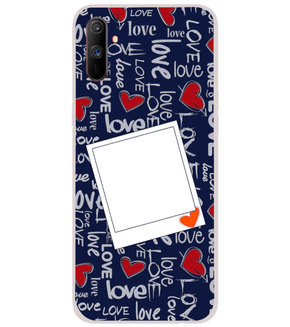 Love All Around Back Cover for Realme C3