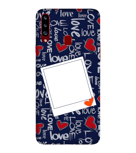 Love All Around Back Cover for Samsung Galaxy A20s
