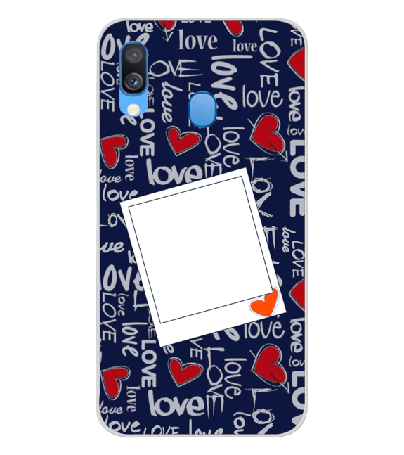 Love All Around Back Cover for Samsung Galaxy A40