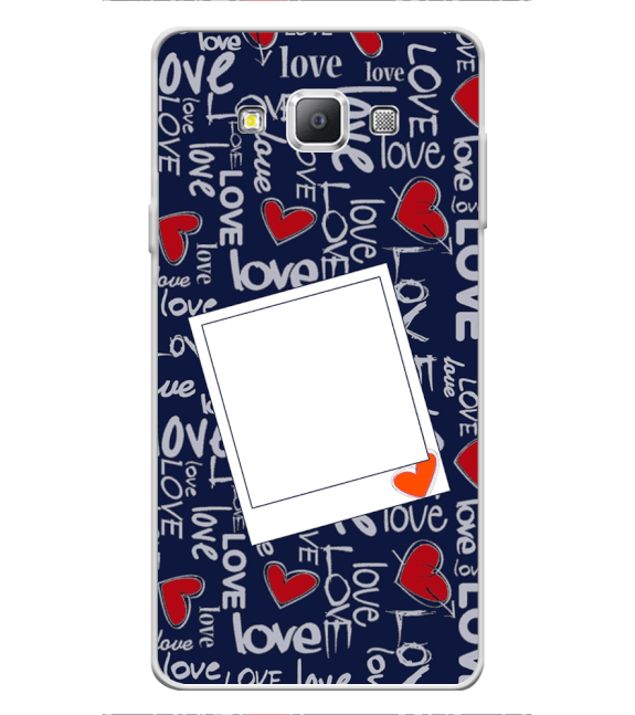 Love All Around Back Cover for Samsung Galaxy A7 (2015)