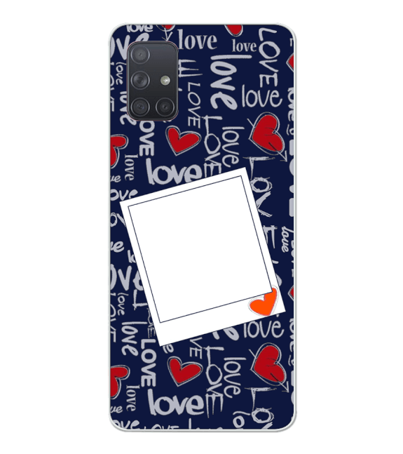 Love All Around Back Cover for Samsung Galaxy A71