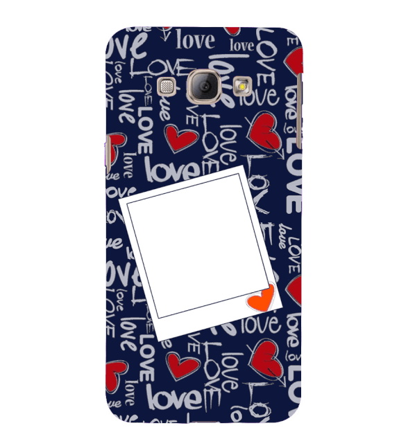 Love All Around Back Cover for Samsung Galaxy A8 (2015)
