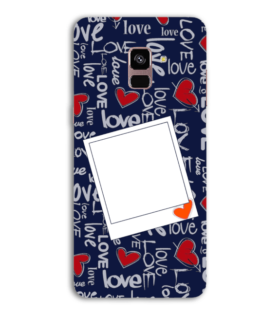 Love All Around Back Cover for Samsung Galaxy A8 (2018)