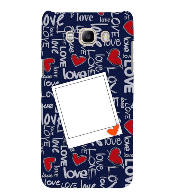 Love All Around Back Cover for Samsung Galaxy J7 (6) 2016 : Galaxy On 8