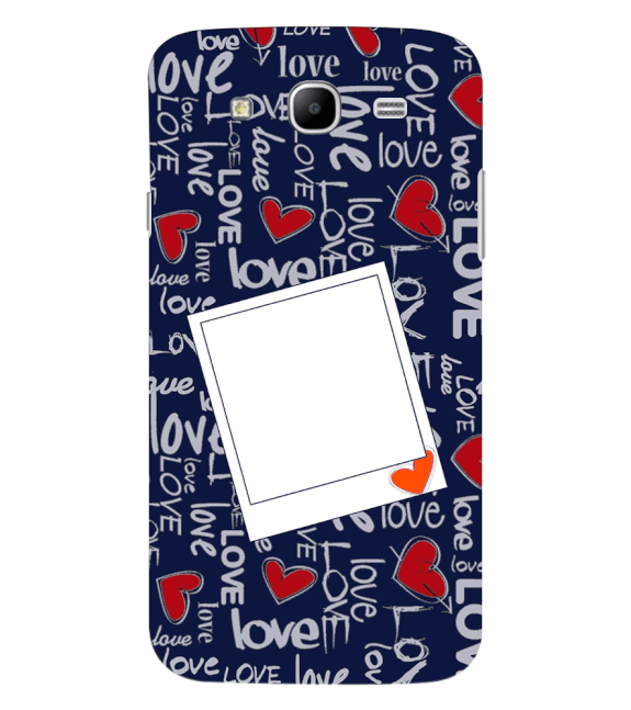 Love All Around Back Cover for Samsung Galaxy Mega 5.8 I9150