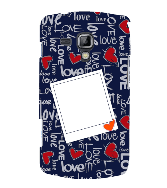 Love All Around Back Cover for Samsung Galaxy S Duos and S Duos 2