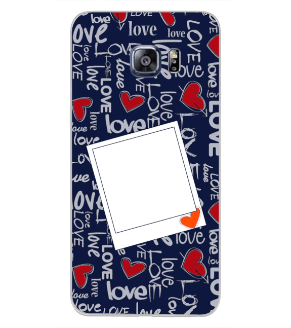 Love All Around Back Cover for Samsung Galaxy S6 Edge