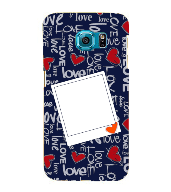 Love All Around Back Cover for Samsung Galaxy S6 edge+