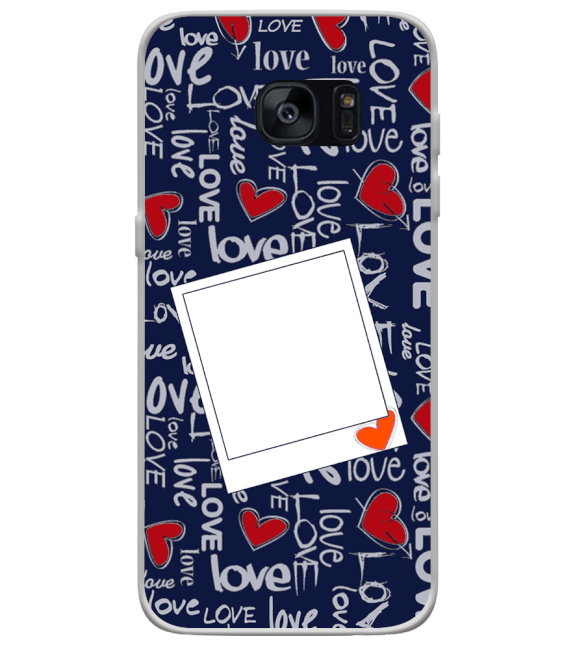 Love All Around Back Cover for Samsung Galaxy S7 Edge
