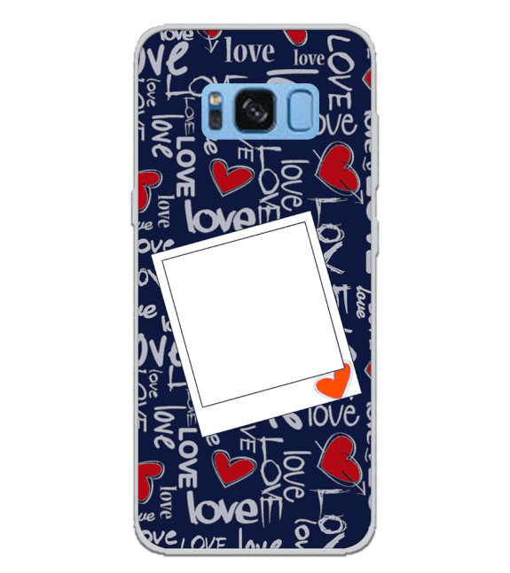 Love All Around Back Cover for Samsung Galaxy S8 Plus