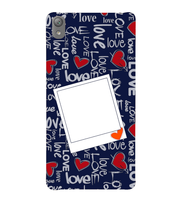 Love All Around Back Cover for Sony Xperia E5
