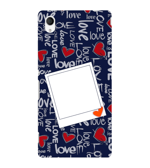 Love All Around Back Cover for Sony Xperia M4 Aqua