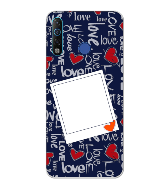Love All Around Back Cover for Tecno Camon 12 Air