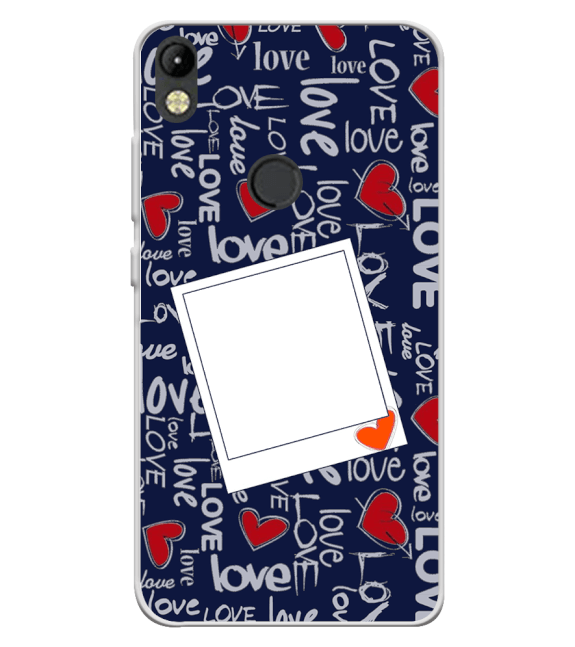 Love All Around Back Cover for Tecno Camon I