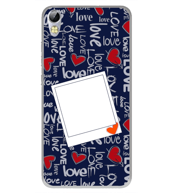 Love All Around Back Cover for Tecno I3 Pro