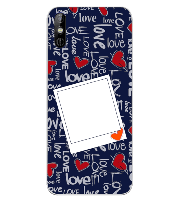 Love All Around Back Cover for Tecno Spark Go