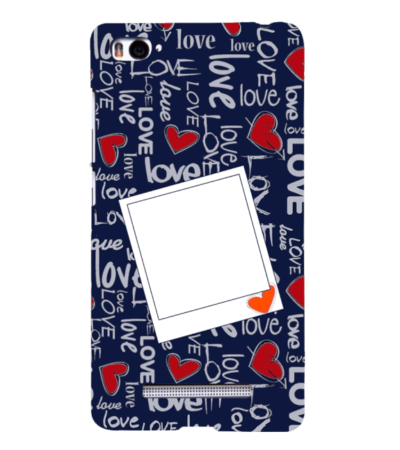 Love All Around Back Cover for Xiaomi Mi 4i