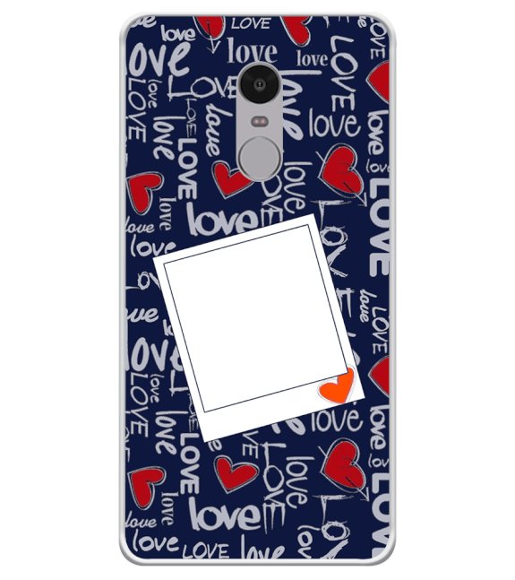 Love All Around Back Cover for Xiaomi Redmi Note 4