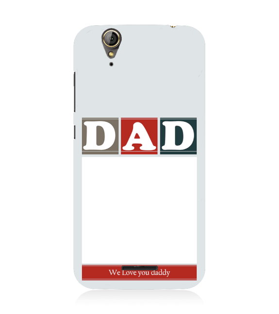Love Dad Back Cover for Acer Liquid Zade 630