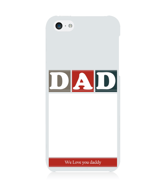 Love Dad Back Cover for Apple iPhone 5c