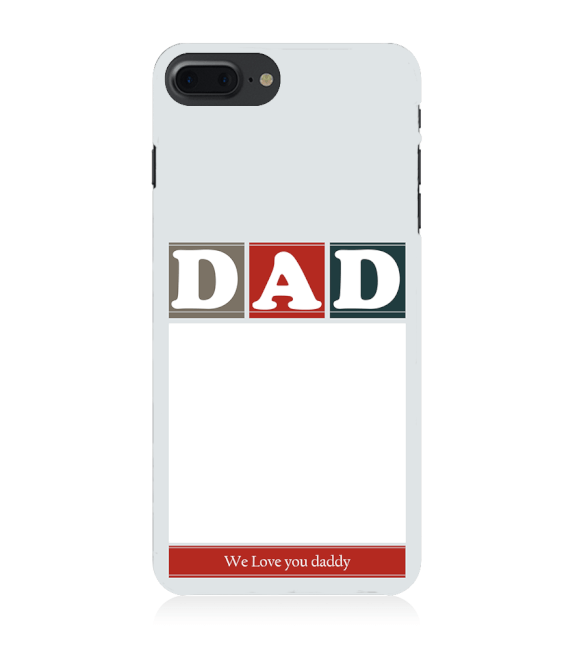 Love Dad Back Cover for Apple iPhone 8 Plus
