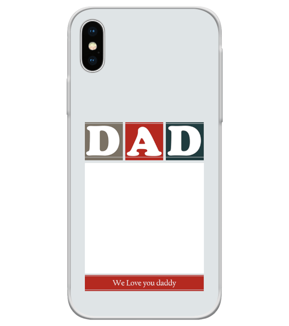 Love Dad Back Cover for Apple iPhone X
