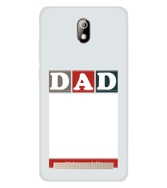Love Dad Back Cover for Comio C1 Pro